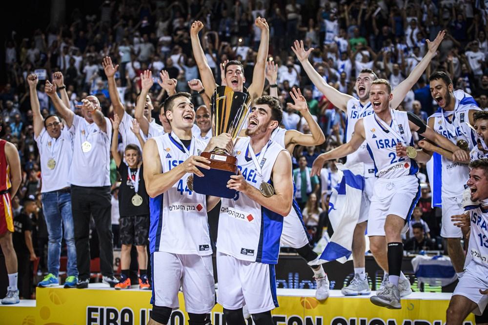 נבחרת ישראל אלופת אירופה בפעם השניה ברציפות!!!!! \ עידו יצחקי