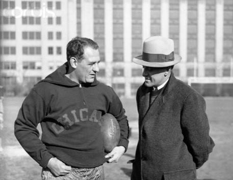 פרובול: ג'ורג' האלאס ורד גריינג' אבות הפוטבול המקצועני/ שחר דלאל
